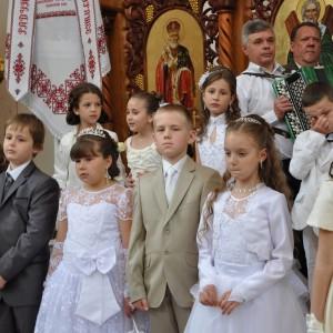 Перше святе причастя 2014р.Б.