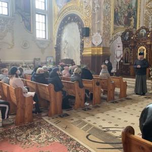 У неділю відбулася молитовна зустріч батьків діточок, щодо першої сповіді та урочистого Святого Причастя.