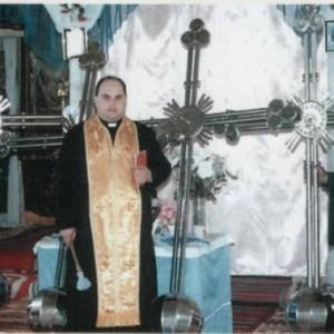 Освячення хрестів.